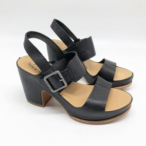 Kork-Ease San Carlos Platform Sandal in Black